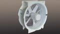 Melkstal ventilatoren