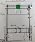 Autolift, passend voor breedte tussen 440-550 cm_