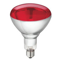 Warmtelamp Philips 250 watt rood