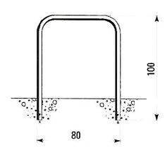 U-bok 80 x 100 cm