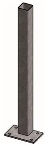 Opbouw standpijp 80 mm vierkant x 180 cm