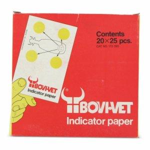 Mastitis indicatiepapier 25 st
