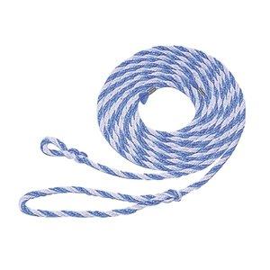 Koetouwen Polyprop blauw/wit 320 cm 12 mm 10 stuks