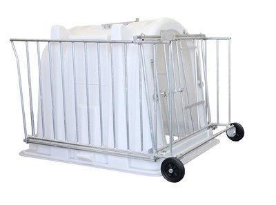 Comfort hekwerk verzinkt voor iglo Mini