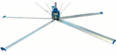 Plafondventilator Abbi PV 6000-EHP