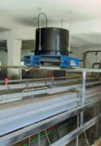 Melkstal Multi-Unit compleet met ventilator